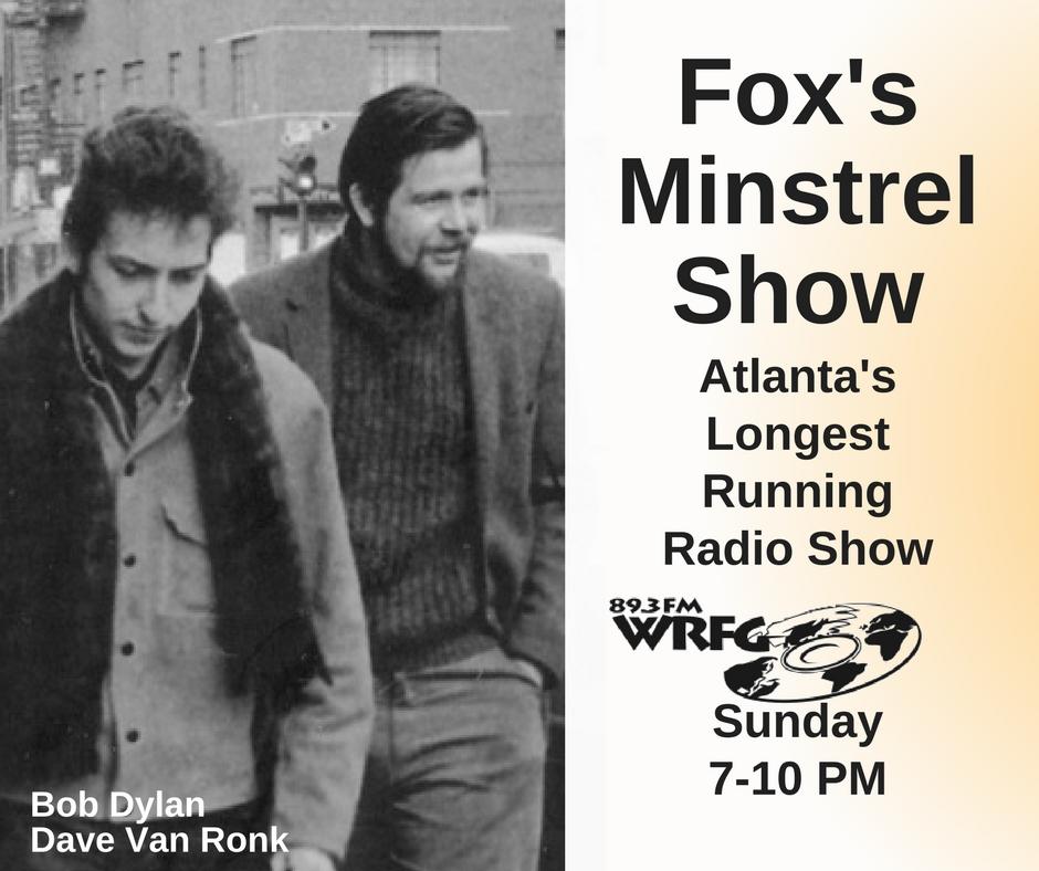 Fox's Minstrel Show – WRFG 89 3 FM Atlanta